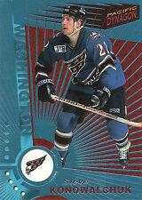 97-98 PACIFIC DYNAGON ICE BLUE #132 STEVE KONOWALCHUK CAPITALS *10087