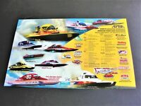 American Power Boat Association-2001 Tentative Schedule of Events Photo Poster.