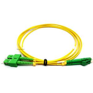 5lots 3M SC APC LC APC Duplex Single Mode Fiber Optic Patch cord Fiber Jumper