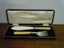 SET POSATE DA PESCE SHEFFIELD PRIMA META 900 forchetta coltello con scatola