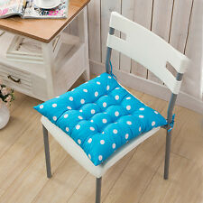 Removable Seat Pad Tie On Chair Cushion Cover Home Dining Outdoor Garden Patio
