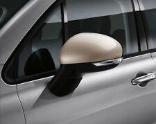 FIAT 500X PORTA ALA SPECCHIO copre sostegno CAPS VERA BEIGE 50903556