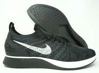 Nike Air Zoom Mariah Flyknit Racer Mens Running Peal Grey 918264-010 Size 10.5