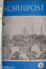 Schulpost promotion 3 cahier 1 - 10 1953 dans classeur pour populaire écoles saar