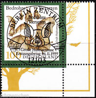 Bund 2086 , o , Eckrand mit Berliner FDC Stempel