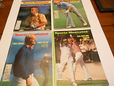 4 Great early 70's covers of the legendary Jack Ncklaus - SI- Sports Illustrated