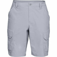 Under Armour UA Fish Hunter Storm Men's Cargo Mod Gray Shorts 1304649-011