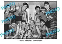 OLD 8x6 PHOTO STURT FC SANFL 1960 PREMIERSHIP WIN