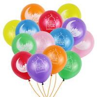 New 10PCS 10'' Eid Mubarak Latex Balloons Islamic New Year Home Party Ornament