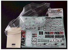 RC Team Durango TD402014 DEX210 v2 Cab Forward Body Decals / Mask 1/10 Buggy NEW
