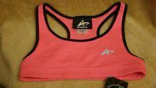 ATHLETECH Girls PINK Racerback Sport Bra  Size M (7-8) NEW