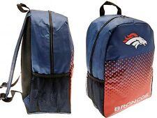 NFL Denver Broncos Deportes Mochila Mochila Escolar Swim Gym Kit de almuerzo den