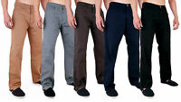 MENS AZTEC CHINO STRETCH CLASSIC TROUSERS PANTS JEANS 28 - 40 42 44 46 48
