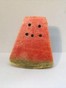 vintage alabaster watermelon slice