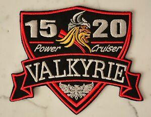 Valkyrie S IRON PATCH Aufnäher honda Parche brodé patche toppa F6C 1520 RIDERS
