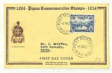 AB273 1934 Papua Port Moresby FDC {samwells-covers}PTS
