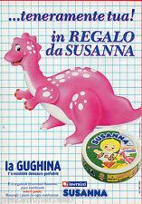 Pubblicità Advertising 1991 INVERNIZZI Susanna regala la Gughina