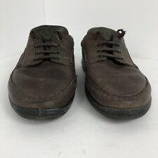 EchoCrosstie Brown Leather Casual Oxford Men's Shoes Eu SZ43 US 9.5-10   S15