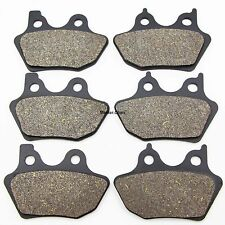 Front Rear Brake Pads For Harley  FLSTCI 1450 Heritage Softail Classic 2000-2004