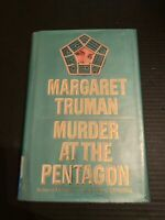 1992 Murder At The Pentagon by Margaret Truman Hardcover With Dust Jacket