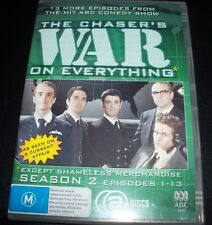 Chasers War On Everything Season 2 Episodes 1 - 13 (Australia Region 4) DVD NEW