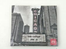 KING CRIMSON - LIVE IN CHICAGO - SPECIAL EDITION 2 CD DIGIBOOK 2017 - NEW! VR