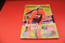 Silhouette Stadium Magazine booklet basketball nostaglia