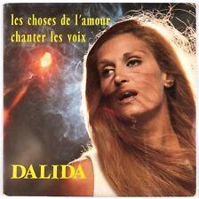 DALIDA - Les choses de l'amour - SP 45 tours