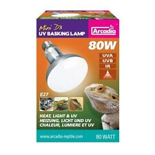 Arcadia D3 UV Basking E 27 Lampe 80 Watt Terrarienlampe Reptilienlampe Spot