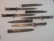 1912 and 1935 Chilean Mauser Bayonet Used need work C350