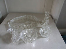 Crystal/Cut Glass Art Deco Clear Date-Lined Glass