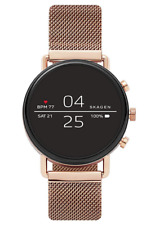 Skagen Falster 2 40 mm Case with Magnetic Buckle Smartwatch, Rose Gold Tone...