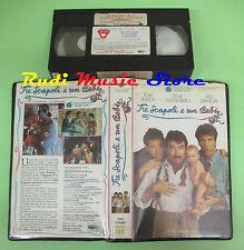 VHS film TRE SCAPOLI E UN BEBE' 1988 Selleck Guttenberg TOUCHSTONE (F68) no dvd