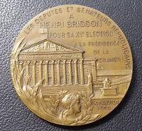 BY EMILE DAUSSIN FRANCE 1908 HENRI BRISSON PRESIDENT CHAMBER DEPUTY, BUILDING
