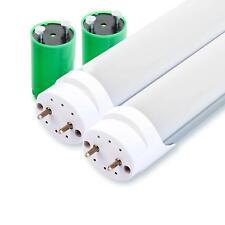 2x Set LED Tube Lumiere T8 60cm 10w 900 Lumen 4500k 48 LEDs Lampe Neon Blanc