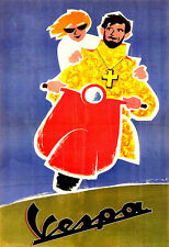 SCOOTER FINE DEL MONDO VESPA URSS POSTER stampati