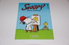 Peanuts -6- T27 Snoopy Salut l'artiste EO / Schultz // Dargaud