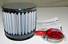 NEW K&N 62-1440 Crankcase Vent Filter with Chrome Top