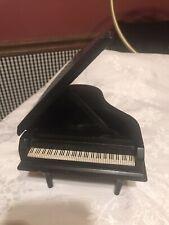 Vintage Beautiful Enesco Baby Grand Piano Music Box 1982 Nocturne Chopin