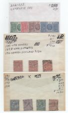 Collection of Great Britain (United Kingdom) identified . 2021 Scott=$100.35