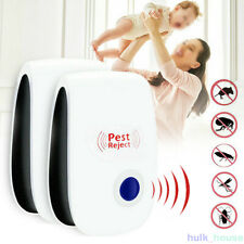 More details for 6× ultrasonic plug in pest repeller deter mouse mice rat insect repellent uk