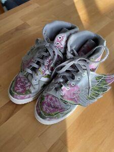 Adidas Originals Jeremy Scott Wings Floral Sliver Rose US 6,5/ UK6/ FR39,5