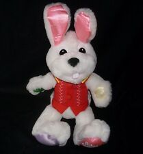 """16"""" 2002 HERE COMES PETER COTTONTAIL BUNNY RABBIT STUFFED ANIMAL PLUSH TOY SOUND"""