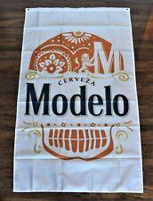Modelo Especial Cerveza Beer Flag Banner Mexico Mexican Restaurant Skull Logo