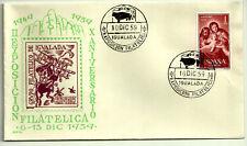 SOBRE PRIMER DÍA. EXPOSICIÓN FILATELICA IGUALADA. 1959