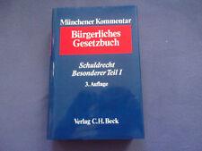 Münchener Kommentar Bürgerliches Gesetzbuch Schuldrecht Besonderer Teil  I 3. A.
