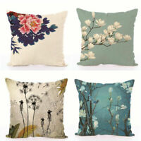Cotton Linen Cushion Pillow Case Cover Decorative Pillows Covers For Sofa Decor