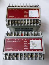 MEGACON mesuring conveter MCV 0-600v & 0-300v (LOT OF 2 PCS)