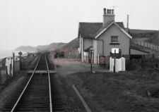PHOTO  BRAYSTONES RAILWAY STATION LMS  6/4/70 VIEW TAKEN FROM THE CAB OF A DMU