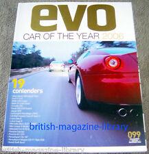 Evo Magazine Issue 99 - Car of the Year 2006